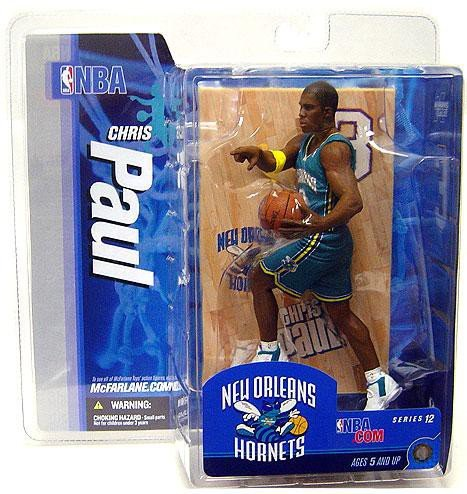 Chris Paul Game - McFarlane Toys NBA Sports Picks Series 12 Action Figure Chris Paul (New Orleans Hornets) Teal Uniform