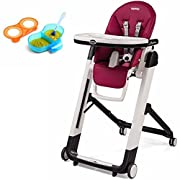 Peg Perego Siesta, Berry & Divided Feeding Bowl