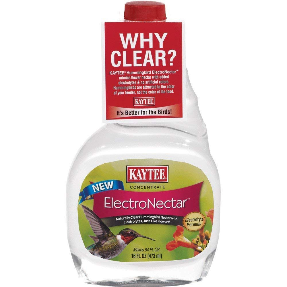 Kaytee Hummingbird Electro Nectar Concentrate, (2 Pack of 16-Ounce)