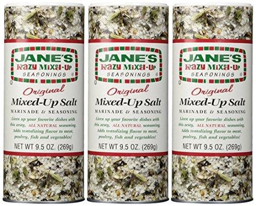Jane's Krazy Mixed-Up Original Salt Blend 9.5 oz (Pack of 3) ()