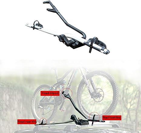 XINGXINGNS Estante de la Bici del Techo, para Bicicletas Capacidad para 1 Bicicleta, para SUV Coche: Amazon.es: Deportes y aire libre