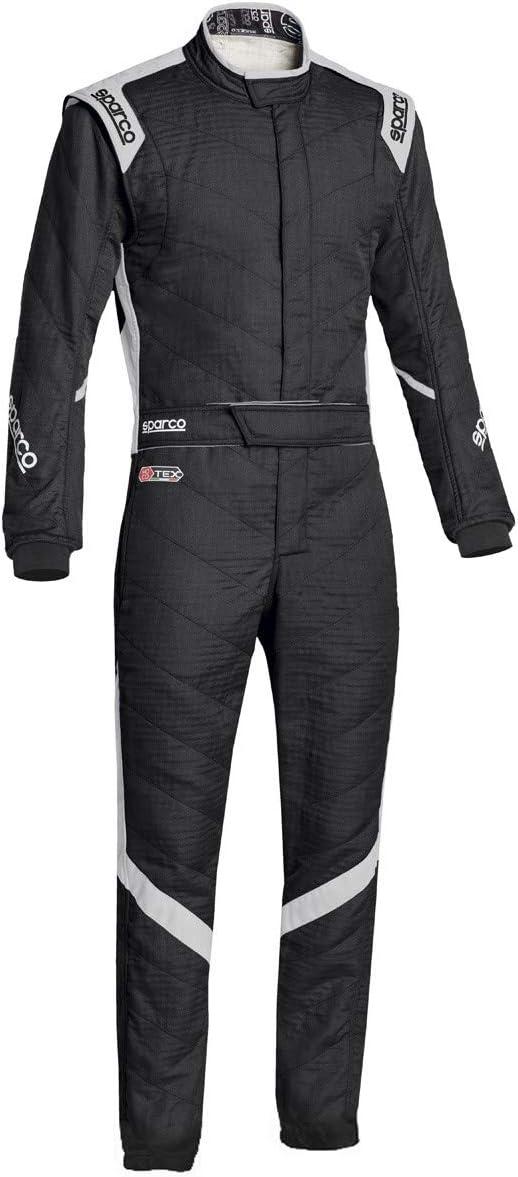 Amazon.com: Sparco Mens Suit Victory Blk/GrayXX-Large ...