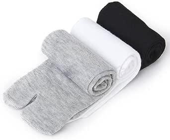 Japanese Long Short Tabi Socks Kimono Geta Clog Flip Flop Split Toe Women Men