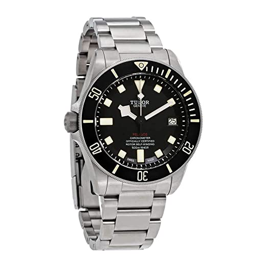 Tudor Pelagos LHD 25610TNL-BKSTI - Reloj automático para Hombre, Esfera Negra: Amazon.es: Relojes