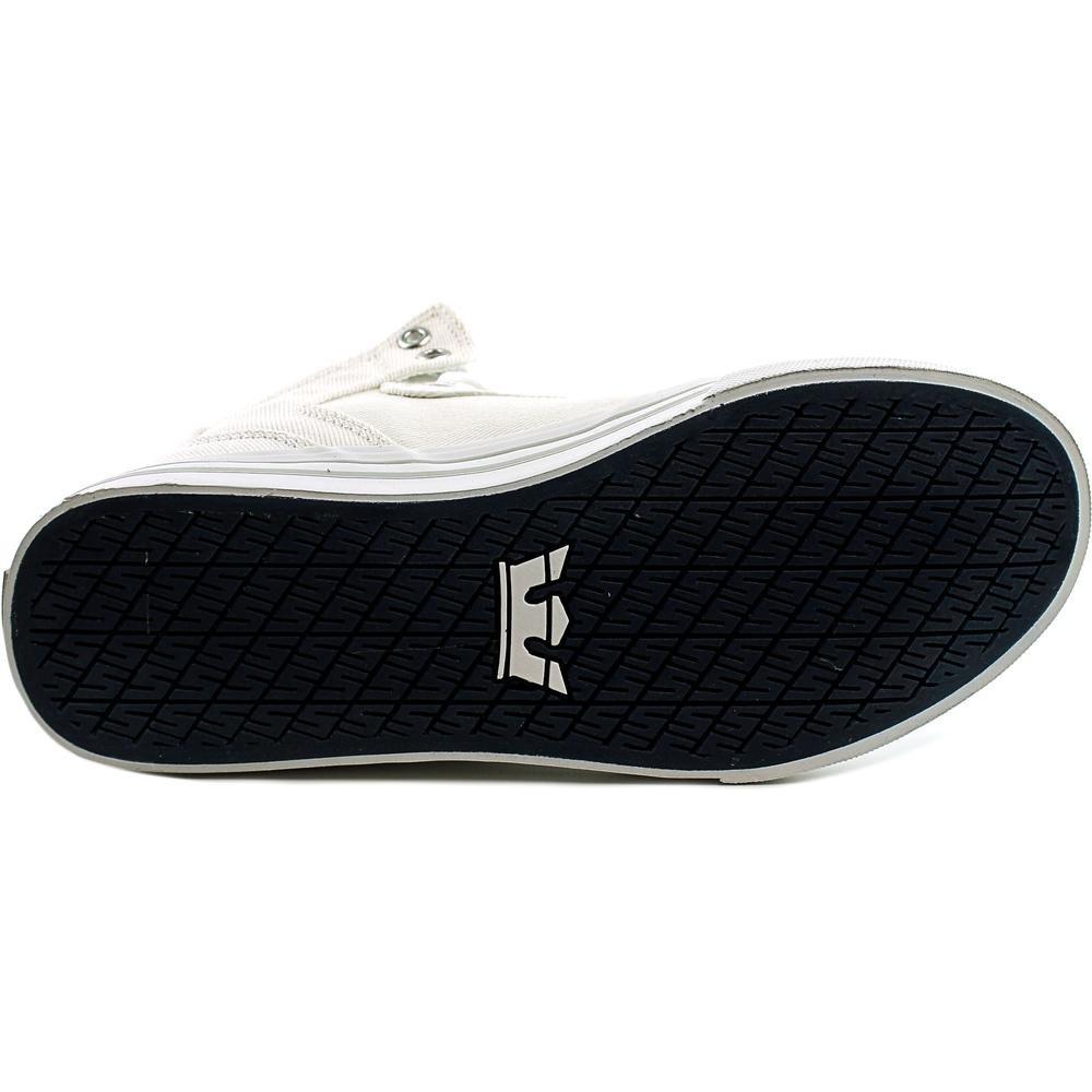 Supra Vaider Skate Shoe C/D B01MDKC6P8 Medium / 8.5 C/D Shoe US Women / 7 D(M) US Men|Light Grey - White 952ea6