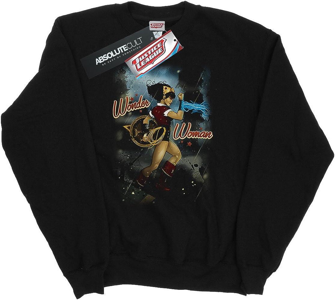 DC Comics Hombre Wonder Woman Bombshell Cover Camisa De Entrenamiento Small Negro: Amazon.es: Ropa y accesorios