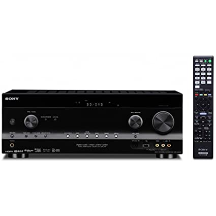 amazon com sony strdh820 7 2 channel 3d av receiver black rh amazon com