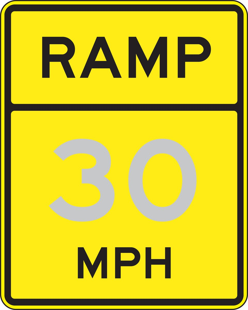 Accuform RAMP XX MPH (FRW74025DP)