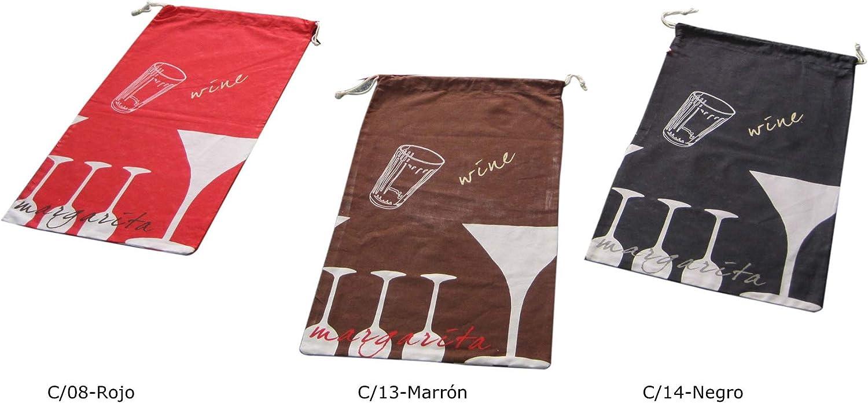Duffi Home Bolsa de Pan, marrón, 35 x 65 cm, 100% algodón: Amazon ...