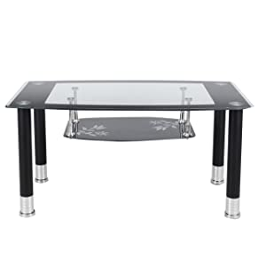 Royaloak Lava Coffee Table (Black)