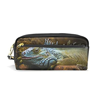 Amazon.com: MUOOUM Lizard Reptil Wildlife Estuche para ...