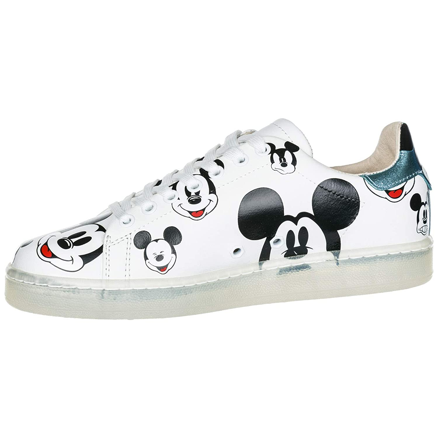 Amazon.com | MOA Master Of Arts Women Disney Mickey Mouse Sneakers White | Shoes