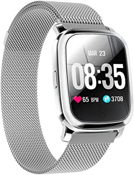 TPW Smart Watch Bluetooth Sports Watch CV06 (2019) IP67 Waterproof Fitness Tracker Business Smartwatch with Heart Rate Monitor, Multi Sport Mode for ...