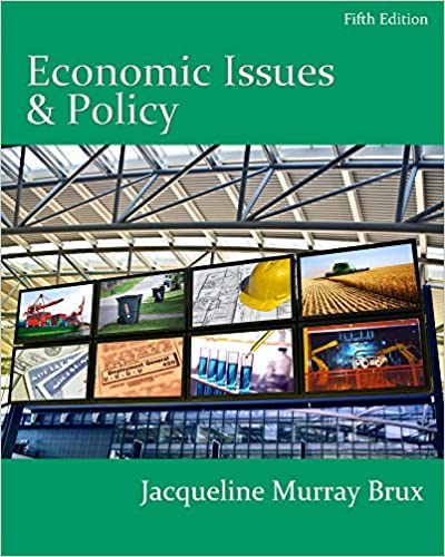 Economic Issues and Policy (5th Edition)