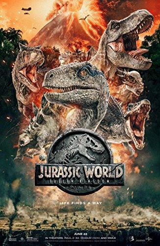 Jurassic World Fallen Kingdom Movie Poster Limited Print Photo Chris Pratt Bryce Dallas Howard Size -