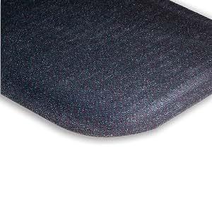 Andersen Hog Heaven Plush Anti-Fatigue Carpet Mat - Custom-Cut Size - 3'W - Green - 8