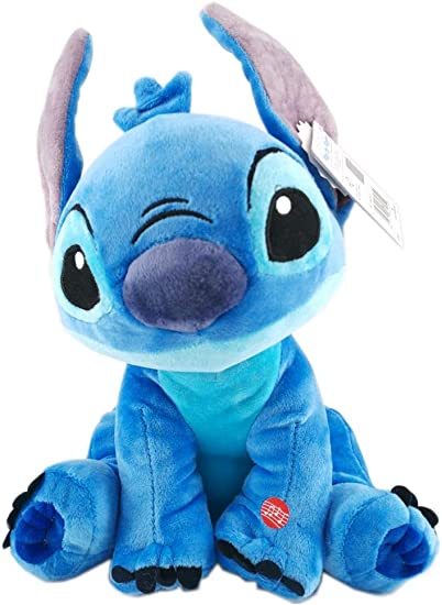 playbyplay Peluche Stitch 30cm Parlante Lingua Inglese Frasi del