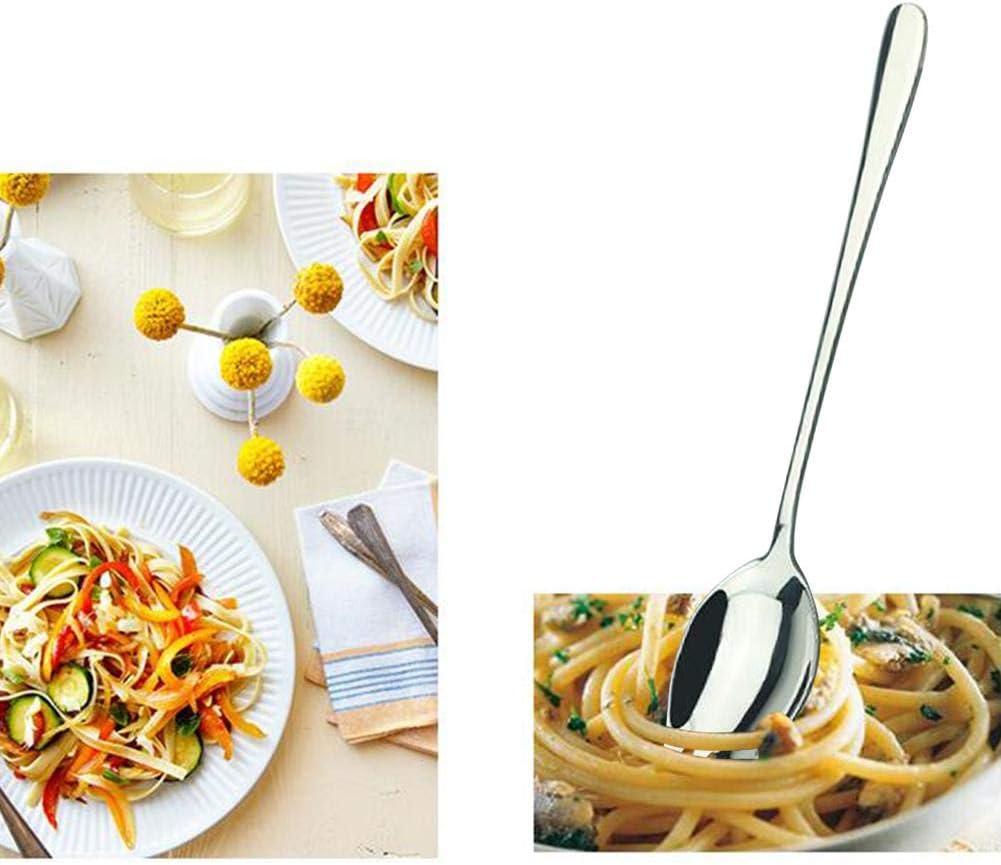 Dynamicoz Cuill/ère /à Fourchette /à Fruits innovante en Acier Inoxydable 304 Steadfast