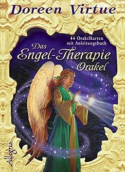 Das Engel-Therapie-Orakel (Kartendeck): 44 Karten mit Anleitungsbuch Doreen Virtue Angelika Hansen Allegria 3793421716