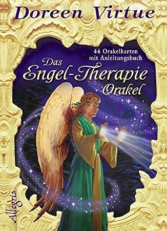 Das Engel Therapie Orakel Kartendeck 44 Karten Mit Anleitungsbuch