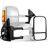 SAN HIMA VATM025A Pair Towing Extendable Side Mirrors for HOLDEN COLORADO 2012 - ON NEW