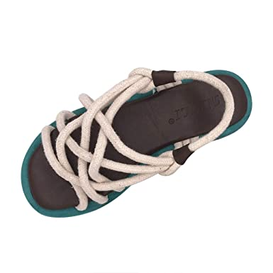 63a3019163dc Amazon.com: Sunskyi Women Gladiator Strappy Sandals,Ladies Sexy Flat ...