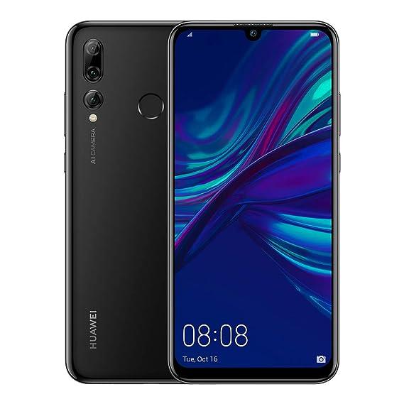 "Huawei P Smart+ 2019 - Smartphone de 6.2"" FHD (3 GB de RAM, 64 GB de memoria,Cámara Trasera de 24 MP+16 MP+2 MP, Android 9, 3400mAh, Carga rápida) Negro"