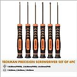 Precision Screwdriver Set of 6, TECKMAN Phillips