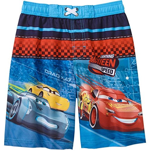 Disney Cars 3 Lightning McQueen Boardshort Swim Trunk - Large