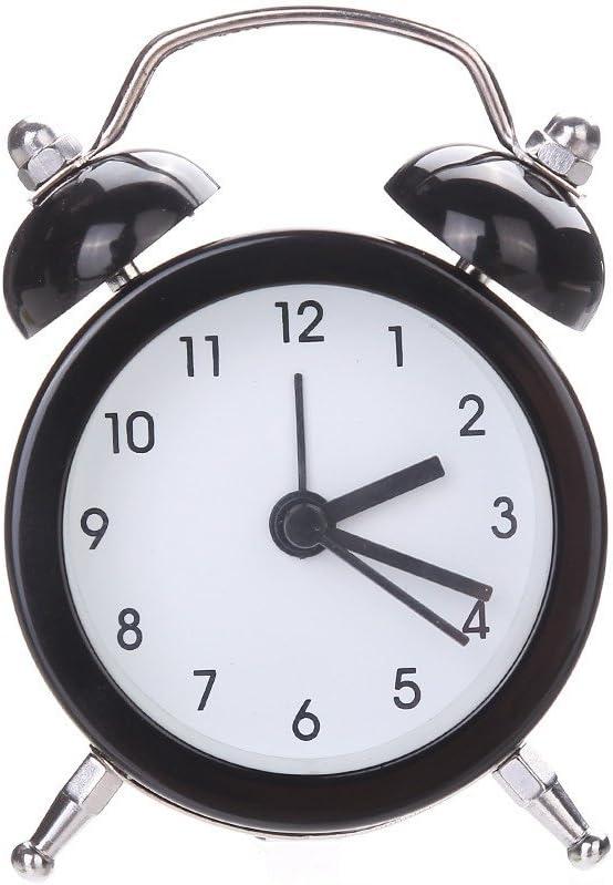 Leegoal R/éveille-Matin R/éveil /à lancienne R/éveille-Matin Bell Classique pour Dormeur Lourd Super R/éveil R/étro Classique avec Cadran st/ér/éoscopique aliment/é par Piles