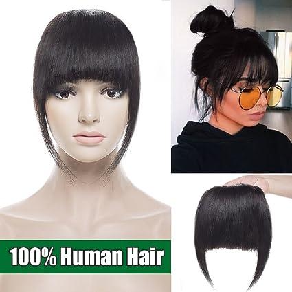 Frangia extension clip capelli veri