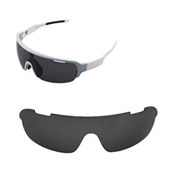 4dda79314ce Walleva Replacement Lenses for POC Half Blade Sunglasses - Multiple Options  Available (Black - Polarized