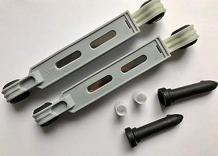 2 Amortiguadores Amortiguador para lavadora Bosch Siemens Neff ...