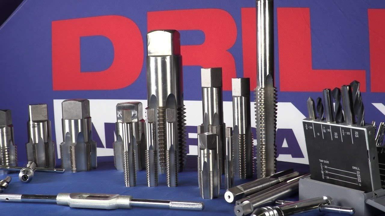 Drill America m5 x .8 Tap and 4.20mm Drill Bit Kit POU Series