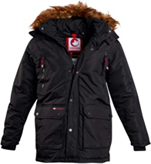 Canada Weather Gear Men/'s Insulated Jacket