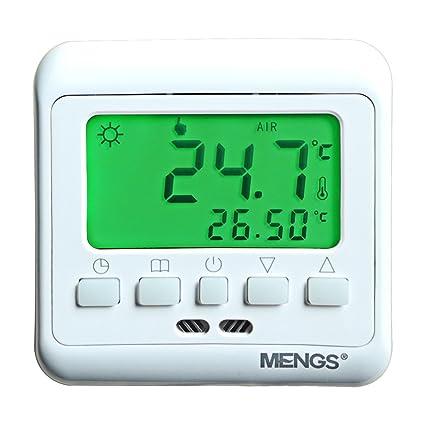 daskoo c08.h3 7 días programables Calefacción Termostato Con Pantalla Lcd PC AC 85 –