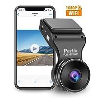 Deals on Peztio Dash Cam WiFi, FHD 1080P Dash Camera