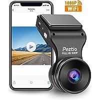 Peztio 1080p WiFi Car Dash Cam for Cars, Car Dash Camera Recorder