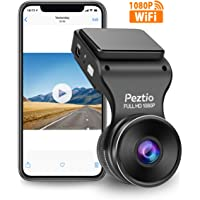$45 » Peztio Dash Cam WiFi, FHD 1080P Dash Camera for Cars, Car Dash Camera Recorder, G-Sensor, 170…