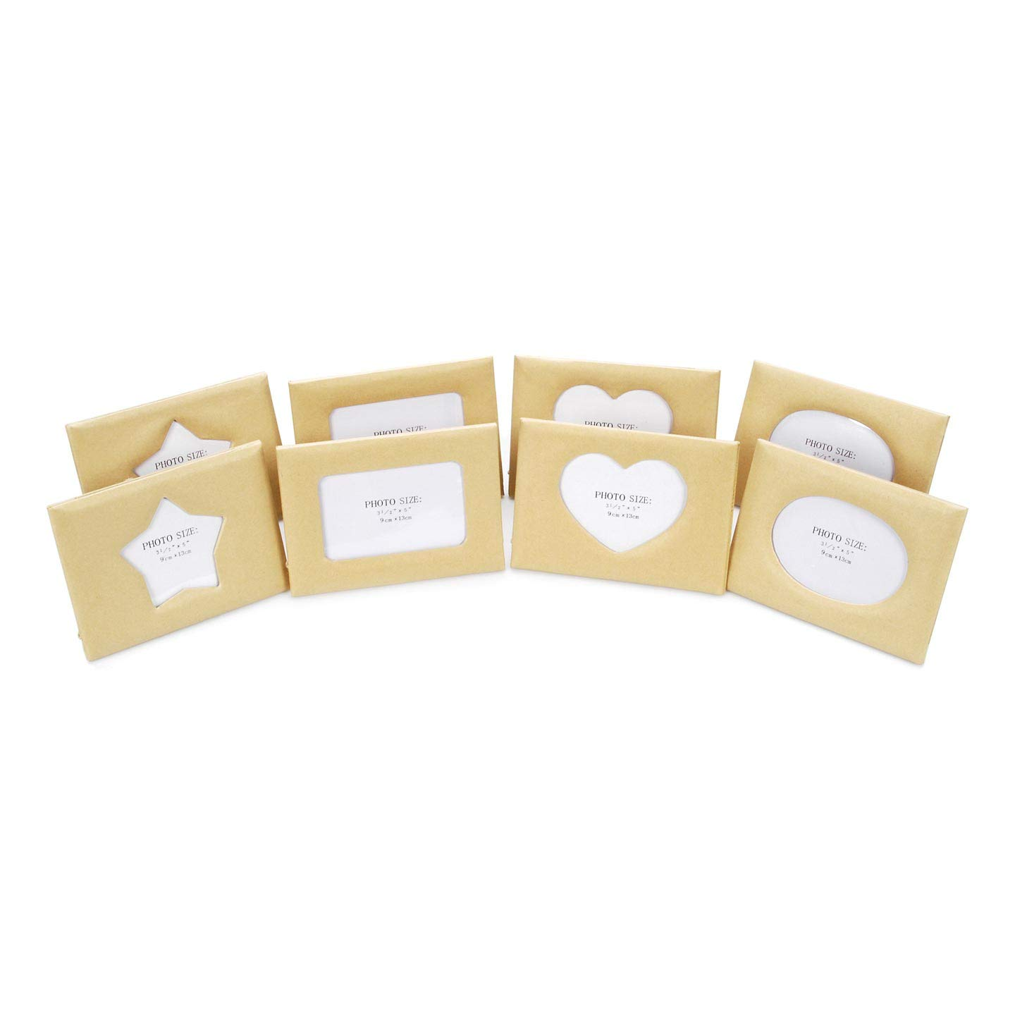 edf605970bd Amazon.com - Darice Bulk Buy DIY Crafts Paper Mache Frames Assorted Styles  5 x 7 inches 8 pieces (2-Pack) 1166-BV -