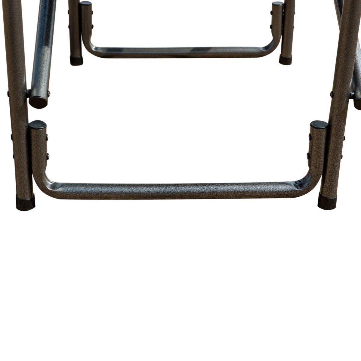 軽量監督の椅子Folding Deck Chair with Sideテーブルサポート300lbs B073QLQH84