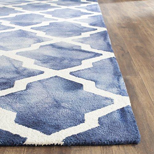 Safavieh Dip Dye Collection DDY540N Handmade Geometric Moroc