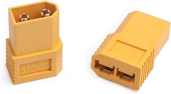OliRC 4pcs XT60 XT-60 to Traxxas TRX Style Male Female Connector Adapter C155-4
