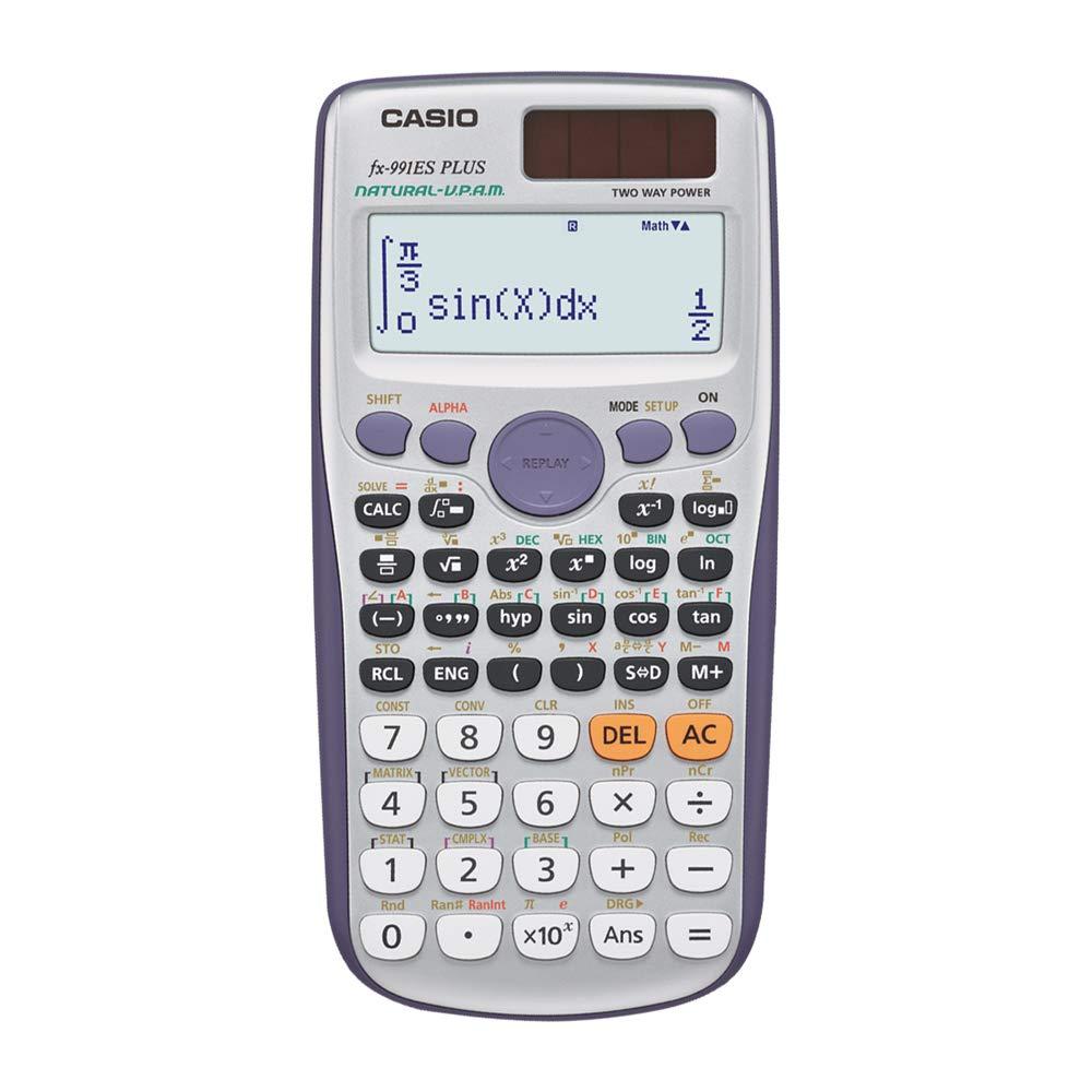 Casio FX-991ES Plus Non-Programmable Scientific Calculator, 417 Functions product image