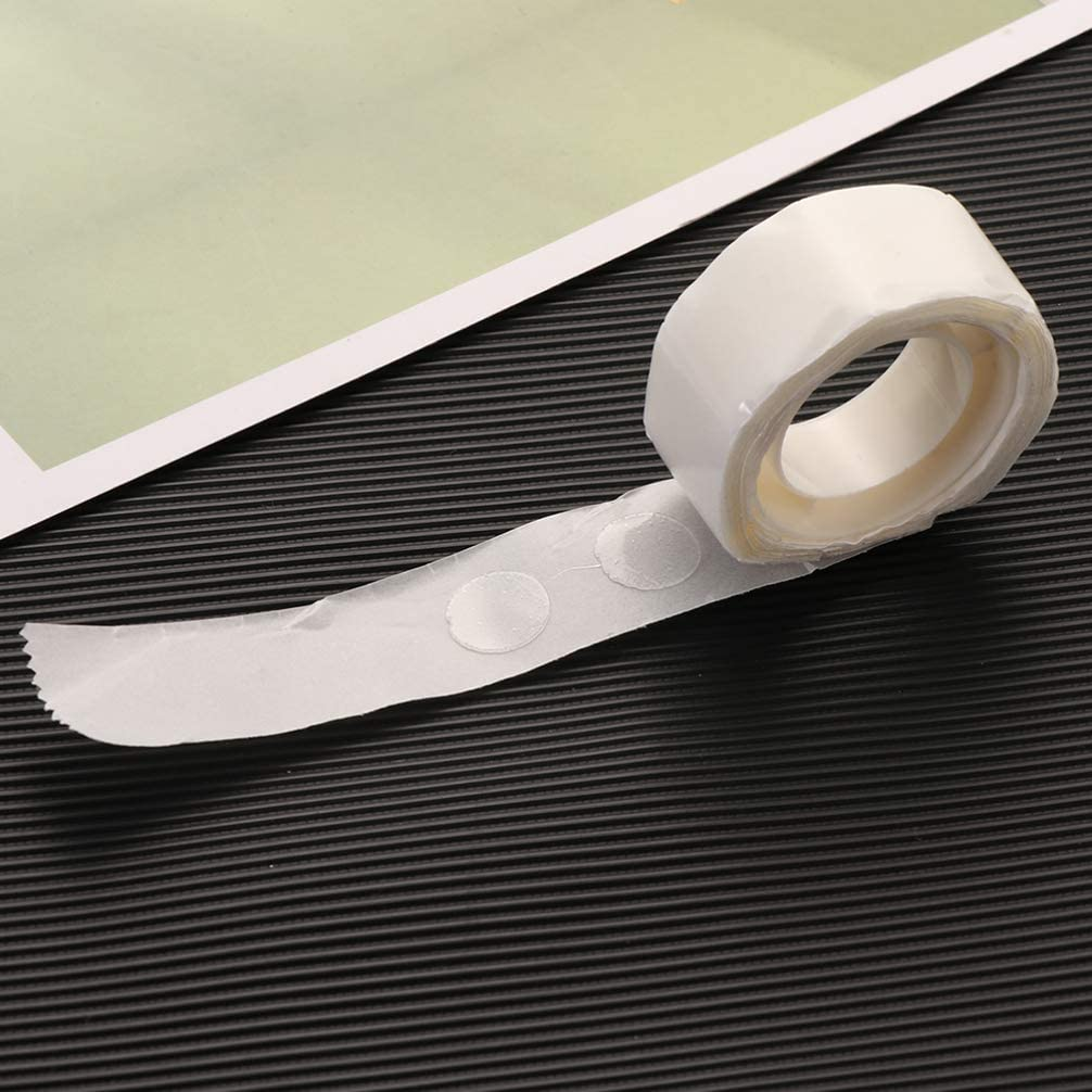 NUOBESTY 10Rolls Clear Glue Dots Adhesive Balloon Glue Point Dots Tape Stickers forBirthday Wedding Party Decoration