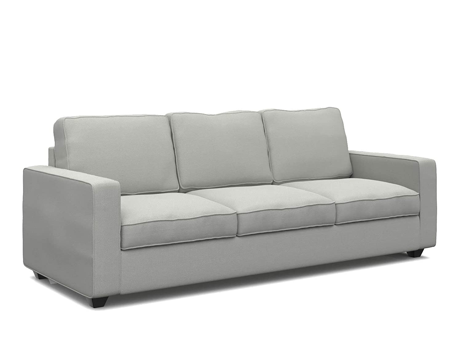 Forzza Montreal Three Seater Sectional Sofa (Beige): Amazon ...