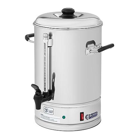 Royal Catering Cafetera de filtro industrial RCKM-WOF10 (1.500 W, 10 L,