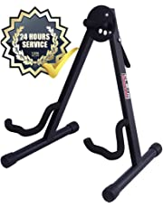GLEAM Guitar Stand Fit Electric, Classical Guitars and Bass, Guitar Accessories, A-Frame Single Folding Guitar Stand …