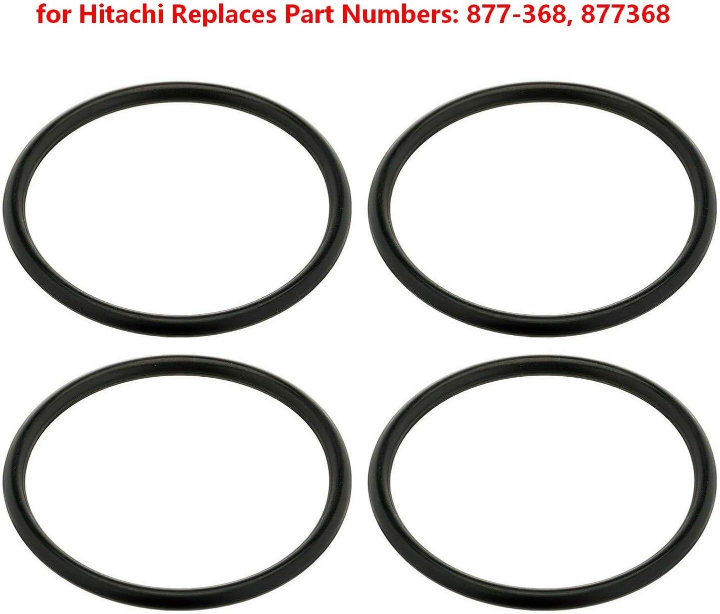 A2 Eagleggo 4 Pack Piston O-Rings for Hitachi Replaces Part ...
