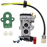 Carbhub Carburetor Fuel Line Kit for Walbro WYA-79 Husqvarna 350BT 150BT Backpack Blower